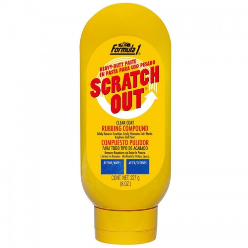 Formula 1 Scratch Out Paste 227g - Body Repair