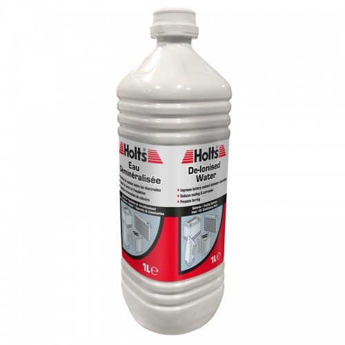 Holts De-Iionised Water 1 Litre - Maintenance