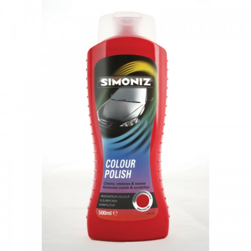 Simoniz Colour Wax Light Red 500ml - Colour Polish