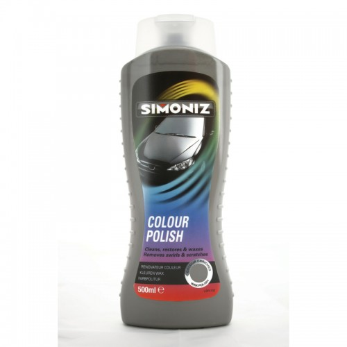 Simoniz Colour Wax Grey/Silver 500ml - Colour Polish