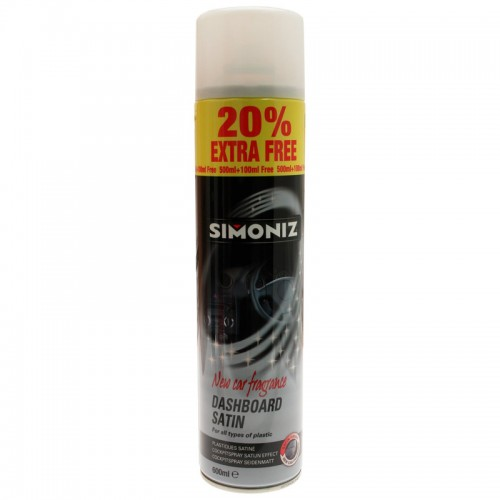 Simoniz Dashboard Shine New Car Aerosol 20 Ef 500ml - Interior Range
