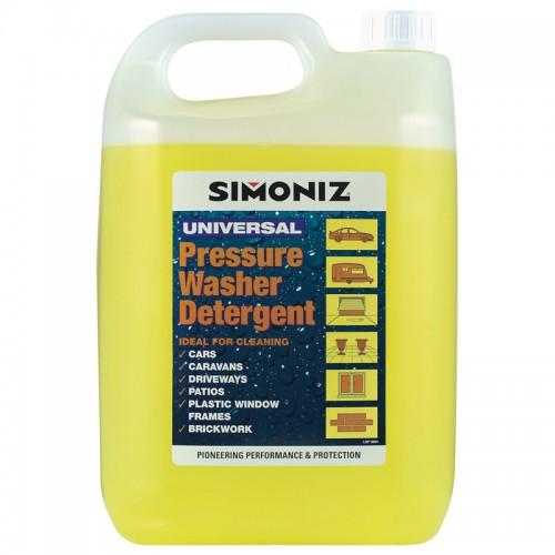 Simoniz Pressure Washer Detergent 5l - Shampoo