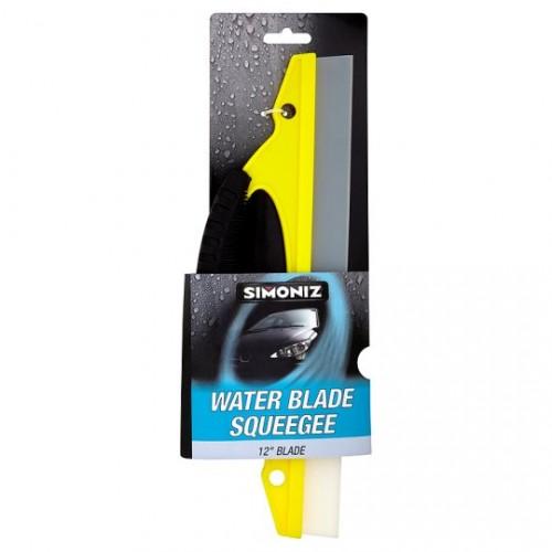Simoniz Water Blade Squeegee (new Chamois Range) - Wash Accessories