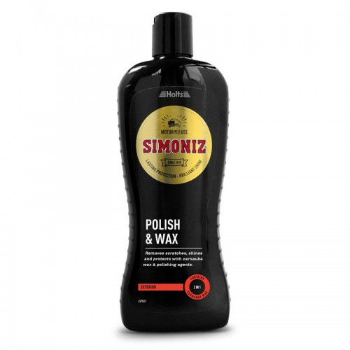 Simoniz Polish & Wax 500ml (new Black Range) - Waxes