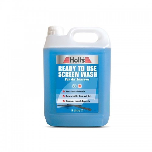 Holts Screenwash 5 Litre Ready To Use - Screen Wash